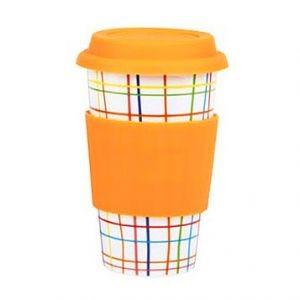 Чашка-термос  Classic Patterns - Orange