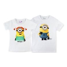 Парные футболки Миньоны