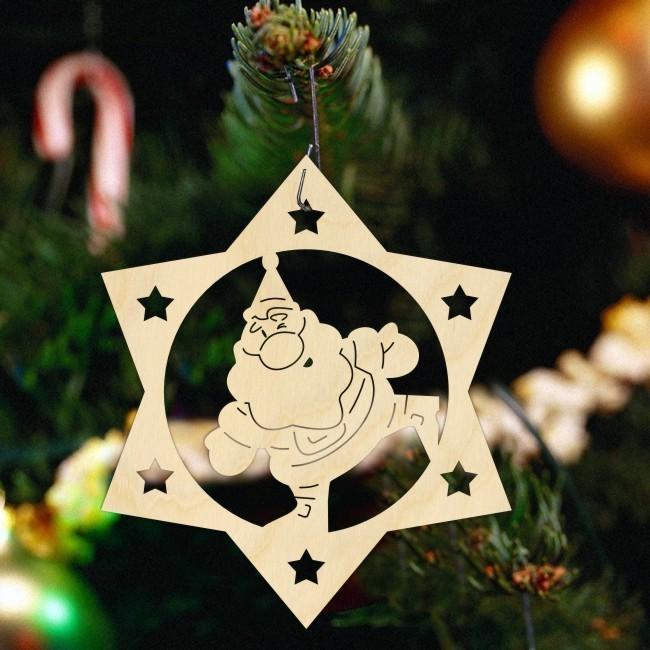 Елочное украшение Санта 2