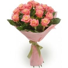 Букет из 15 роз (50см)