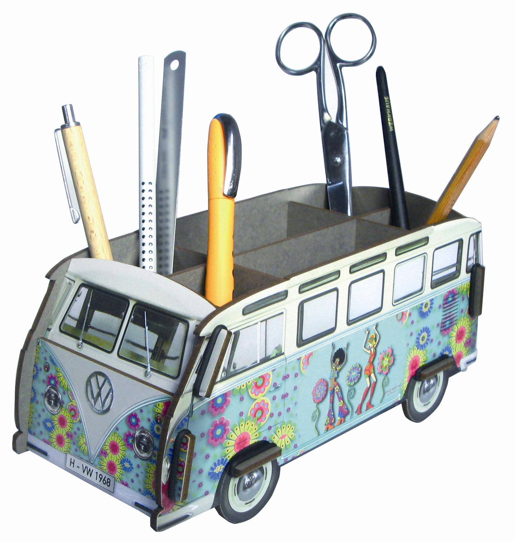 Бокс для карандашей Автобус