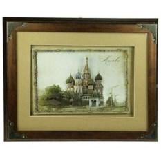Ключница-коллаж Храм Василия Блаженного