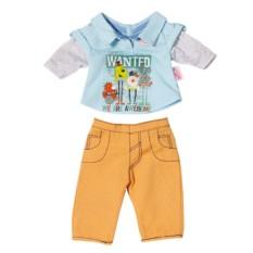 Стильная одежда для куклы-мальчика Baby born (Бэби Борн)