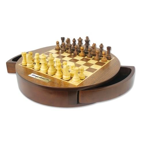 Шахматы Великий гроссмейстер с круглой доской