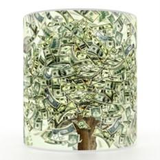 Кружка с 3D печатью Доллары