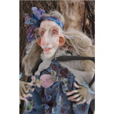 Текстильная кукла EvaDolls Мадам Поганкина