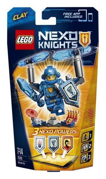 Игрушка LEGO Нексо Клэй – Абсолютная сила