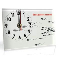 Настольные часы Опаздывать нельзя