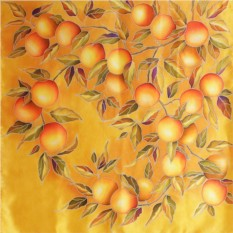 Платок «Золотые апельсины»