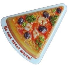 Магнит Пицца креветки
