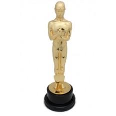 Статуэтка «Оскар-строитель», позолота