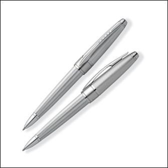 Шариковая ручка Cross Apogee, цвет: Chrome