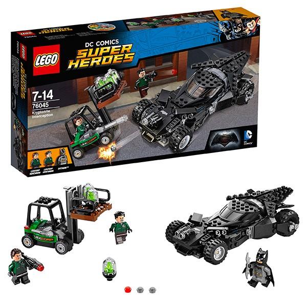 Конструктор Перехват криптонита Lego Super Heroes