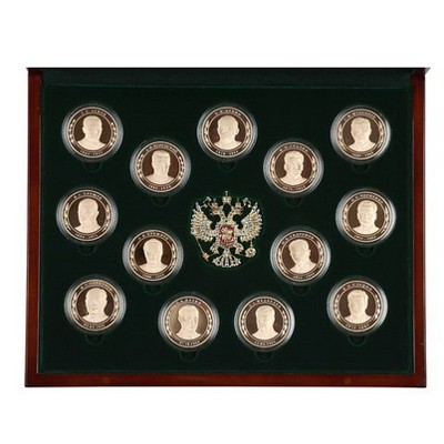 Набор медалей История в лицах. Россия XX-XXI век