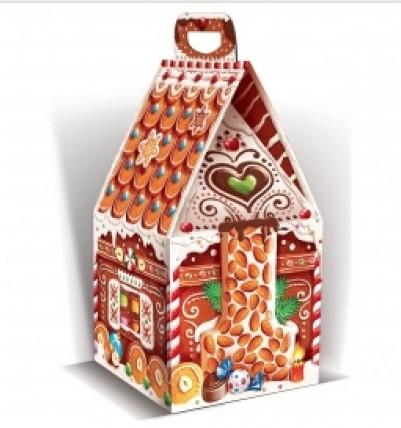 Сладкий новогодний подарок Пряничный домик
