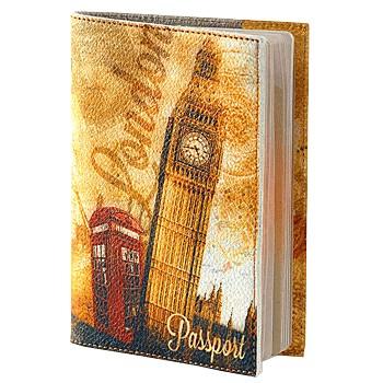 Обложка для паспорта, Лондон