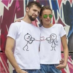 Парные футболки Голос любви