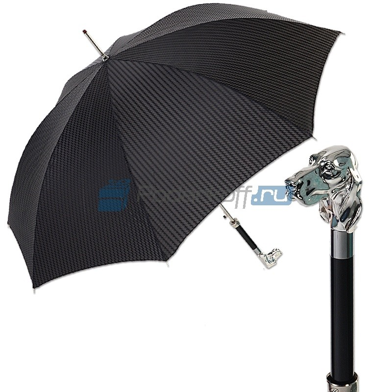 Мужской зонт-трость Pasotti Fido Man