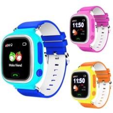Умные детские часы с GPS Smart Baby Watch (оранжевый)