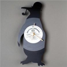 Часы из пластинок Пингвин