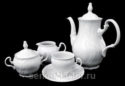 Кофейный сервиз Thun Бернадот на 6 персон