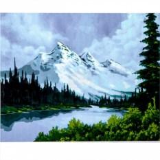 Набор для рисования по номерам Горный пейзаж