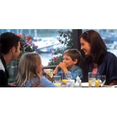 Ужин для 2х взрослых и 2х детей