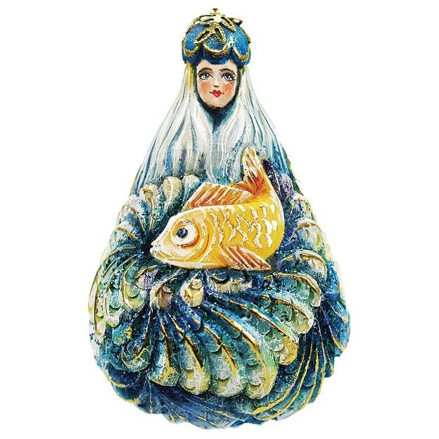 Украшение «Морская девушка»
