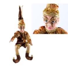 Новогодний сувенир Эльф с маской
