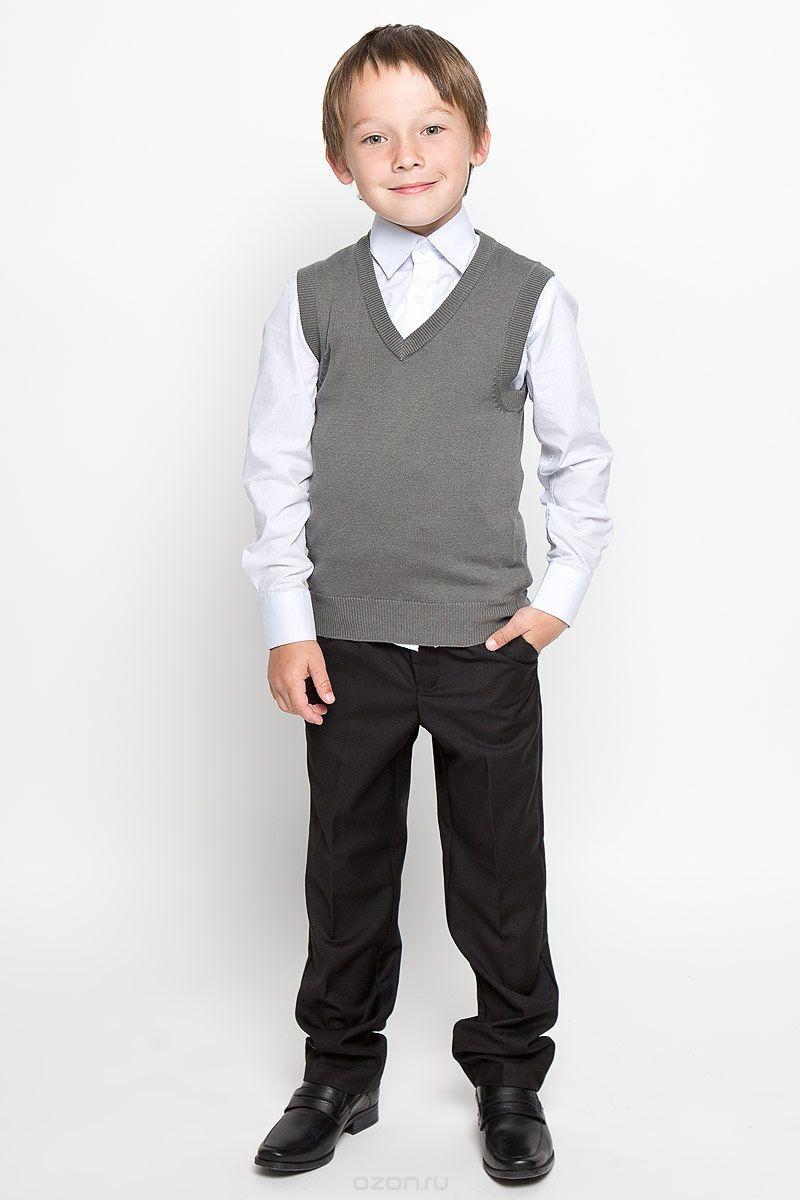 Вязаный жилет для мальчика Tsarevich