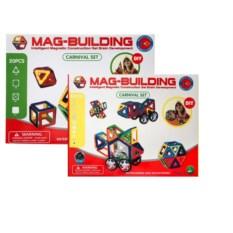 Набор 48 и 20 деталей конструктора Mag-Building