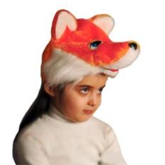Карнавальная шапочка Лисички