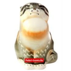 Фарфоровая статуэтка Дикий кот