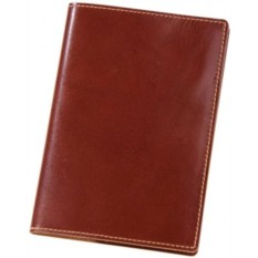 Коричневая обложка для паспорта Cover