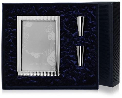 Серебряный набор: рамка Лиссабон и 2 стопки