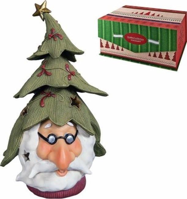 Новогодняя статуэтка Дед Мороз