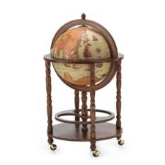 Напольный глобус-бар Минерва дизайн Сафари