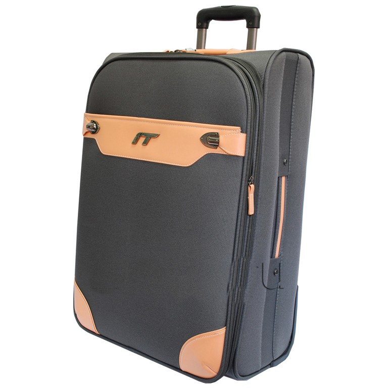 Расширяемый чемодан-тележка IT Valencia