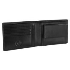 Черное портмоне Wenger Alphubel (кожа наппа)