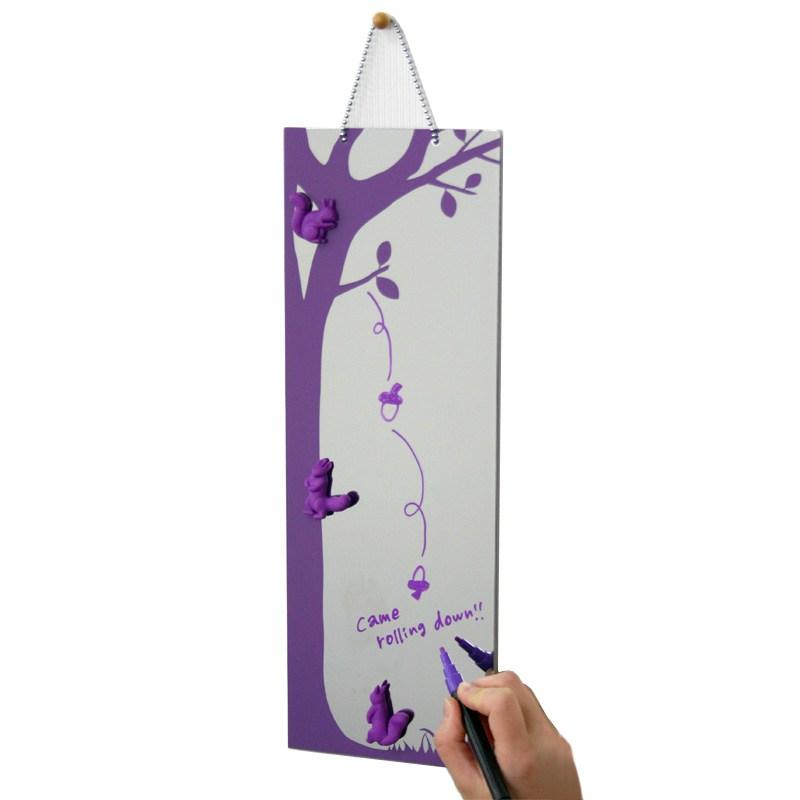 Универсальное зеркало Trinite (13х39 см), фиолетовое