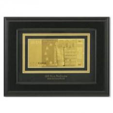 Картина с банкнотой 500 Euro