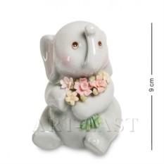 Фигурка Слоненок с букетом (Pavone)