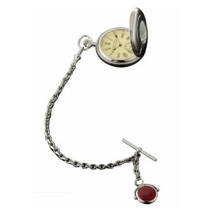 «Часы охотника» карманные ALBERT на цепочке