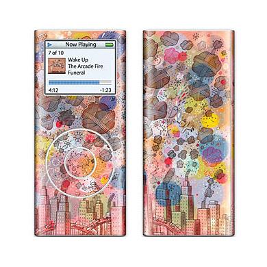 Обложка для iPod Nano 2 Skins Toxicity