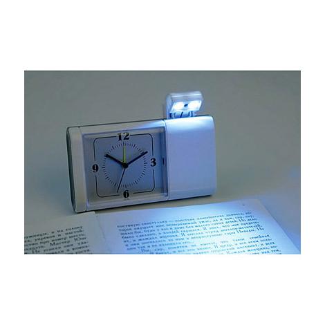 Дорожные часы с лампой