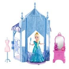 Кукла с замком и аксессуарами Эльза. Холодное сердце