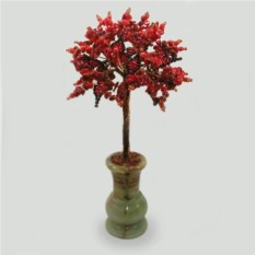 Дерево пожеланий из коралла в готическом стиле