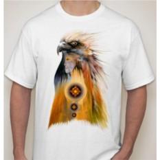 Мужская футболка Орел, индеец