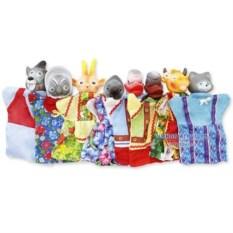 Домашний кукольный театр «Ладушки-ладушки»с 8 персонажами