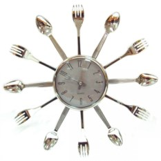 Часы Вилки-ложки